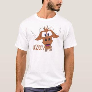 T-shirt GNOU - blanc