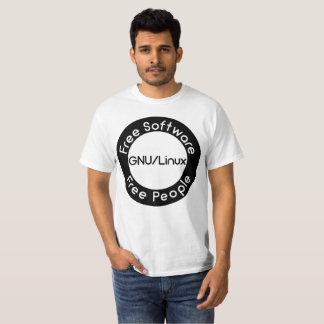 T-shirt GNU/Linux