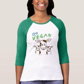 T-shirt GO VEGAN - veaux 01
