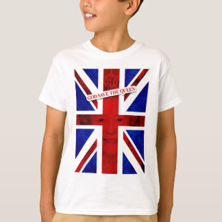 T-shirt GOD SAIT THE QUEEN UK Edition