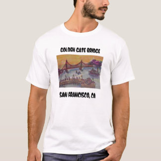 T-shirt golden gate bridge du wf de fishermans, G D'OR…