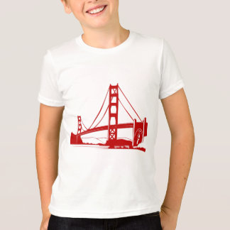 T-shirt Golden gate bridge - San Francisco, CA