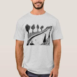 T-shirt golf de disque