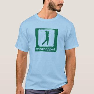 T-shirt Golf handicapé