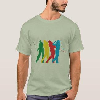 T-shirt Golfeur dans le mouvement