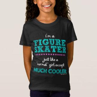 T-Shirt Golly filles - je suis un patineur artistique