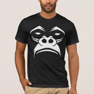 T-shirt Gorille de regard grincheux