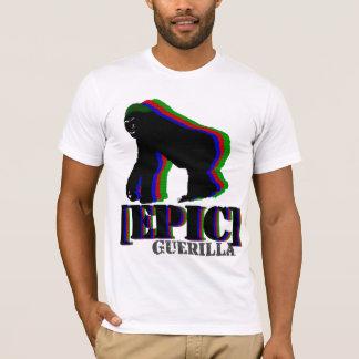 T-shirt Gorille épique de guérillero