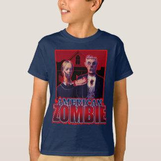 T-shirt Gothique américain de zombi