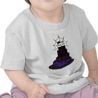 T-shirt gothique de gâteau de mariage d'enfants en