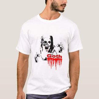 T-shirt gothique de vampire