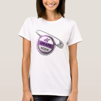 T-shirt Goupille de capsule de soude de raisin