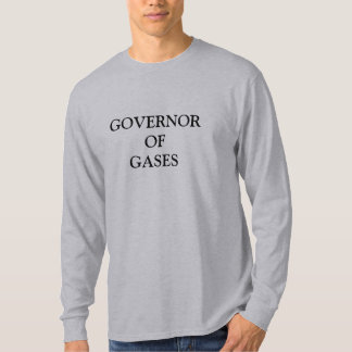 T-SHIRT GOUVERNEUR DES GAZ