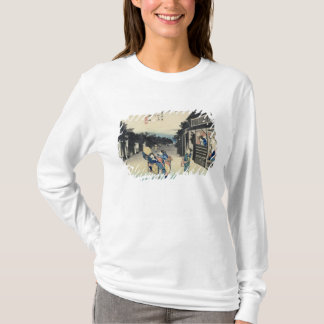 T-shirt Goyu : Serveuses sollicitant des voyageurs