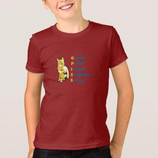 T-shirt GPIES badine la pièce en t - transparente