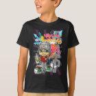 T-shirt Graffiti boy and background