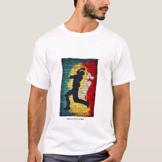 T-shirt Graffiti de cricket - jeûnez