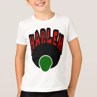 T-shirt Graffiti de Harlem avec le visage et le grand