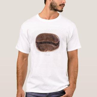 T-shirt Grain de café de rôti, tir de studio