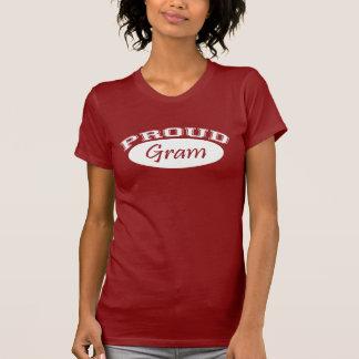 T-shirt Gramme fier (blanc)
