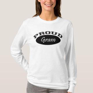 T-shirt Gramme fier (noir)