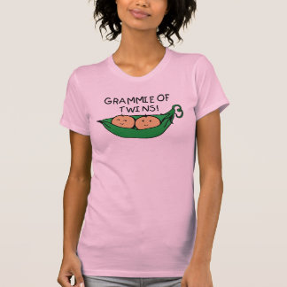T-shirt Grammie de cosse de jumeaux
