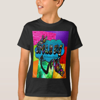 T-shirt Grand collage inspiré rêveur