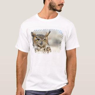 T-shirt Grand hibou à cornes (virginianus de Bubo)