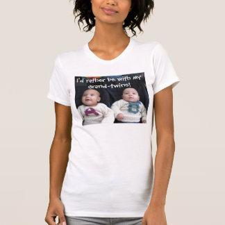 T-shirt Grand-jumeaux