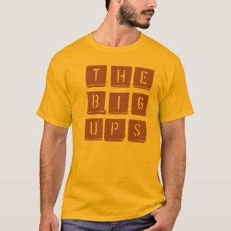 T-shirt Grand lève le pochoir logo.ai