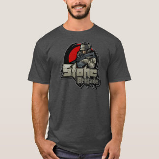 T-shirt Grand logo de brigade en pierre