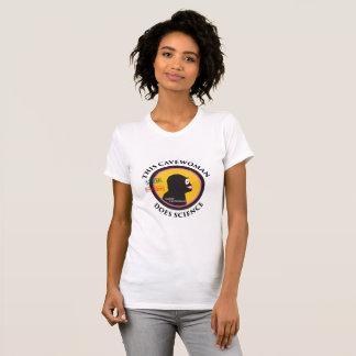 T-shirt Grand logo de vitesse de la Science de TIGE futée
