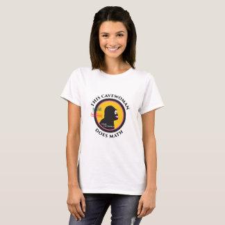 T-shirt Grand logo de vitesse de maths de TIGE futée de