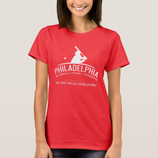 T-shirt Grand-maman affectueuse de base-ball de