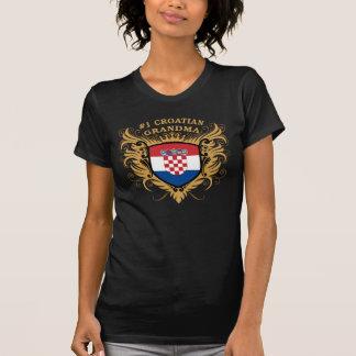 T-shirt Grand-maman croate du numéro un