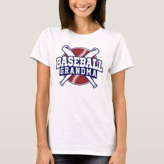T-shirt Grand-maman de base-ball