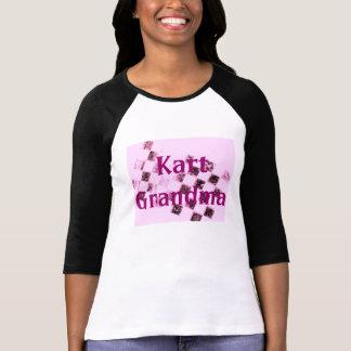T-shirt Grand-maman de kart