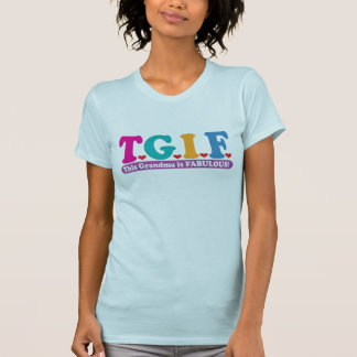 T-shirt Grand-maman fabuleuse