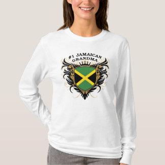 T-shirt Grand-maman jamaïcaine du numéro un