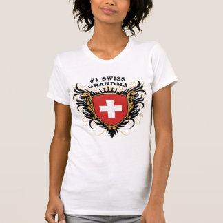 T-shirt Grand-maman suisse du numéro un