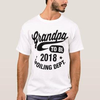 T-shirt Grand-papa à être 2018