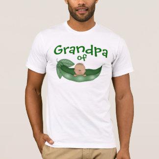 T-shirt Grand-papa de bébé avec la peau foncée