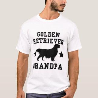 T-shirt Grand-papa de golden retriever