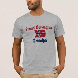 T-shirt Grand-papa norvégien fier