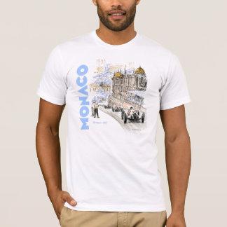 T-shirt Grand prix De Monaco 1937 - texte bleu