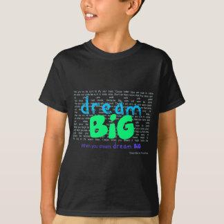 T-shirt Grand rêveur - bleu