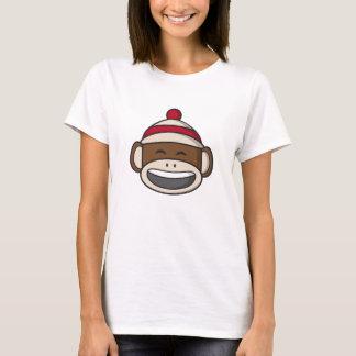T-shirt Grand singe Emoji de chaussette de sourire