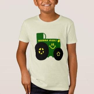 T-Shirt GRAND TRACTEUR VERT