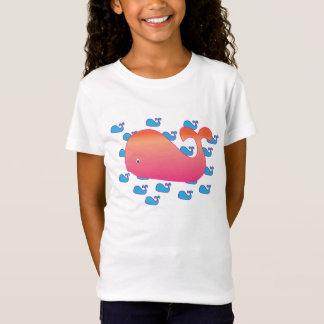 T-Shirt Grande baleine, petites baleines