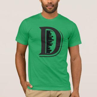 T-shirt grande chemise d'horizon de D Dallas